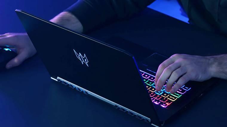 Acer Predator Triton 500 - komolyabb gamer PC a hónod alatt kép
