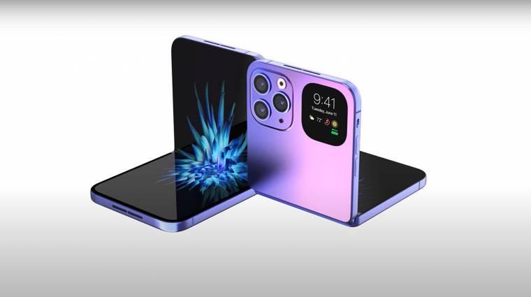 Az LG is segíthet az összehajtható iPhone fejlesztésében kép