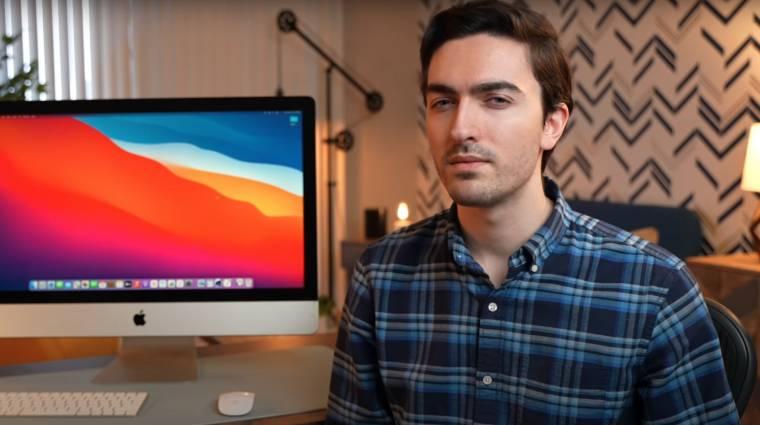 Egy youtuber nem bírt várni, inkább maga tett új Apple-processzort az iMacjébe kép
