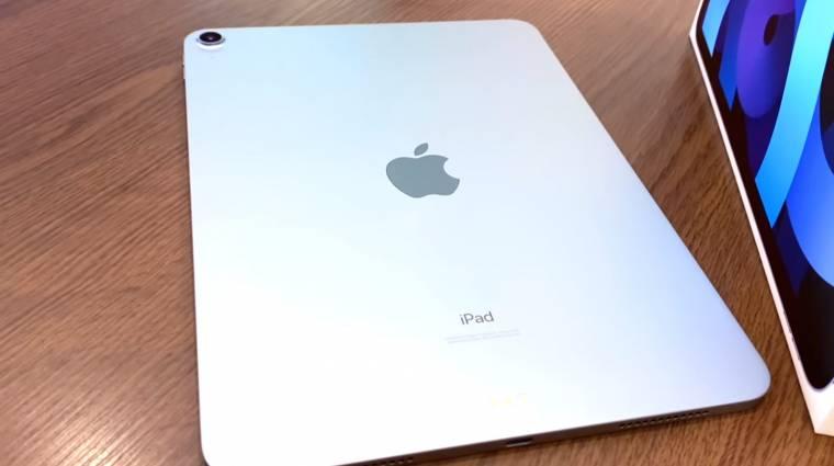 Befutott az első iPad Air 4 unboxing videó kép