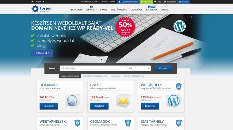 Websuli: Így lesz saját webcímed kép