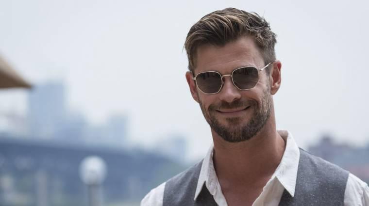 Chris Hemsworth meteorológusnak állt, mi pedig imádjuk bevezetőkép