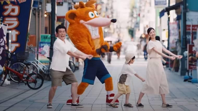 Napi büntetés: a Crash Bandicoot 4: It's About Time élőszereplős reklámjára nehéz szavakat találni bevezetőkép