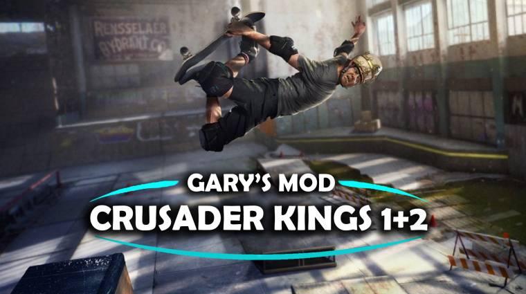 Ha azt hiszed, hogy nem lehet keresztezni a Crusader Kings 3-at a Tony Hawk's Pro Skaterrel, tévedsz bevezetőkép