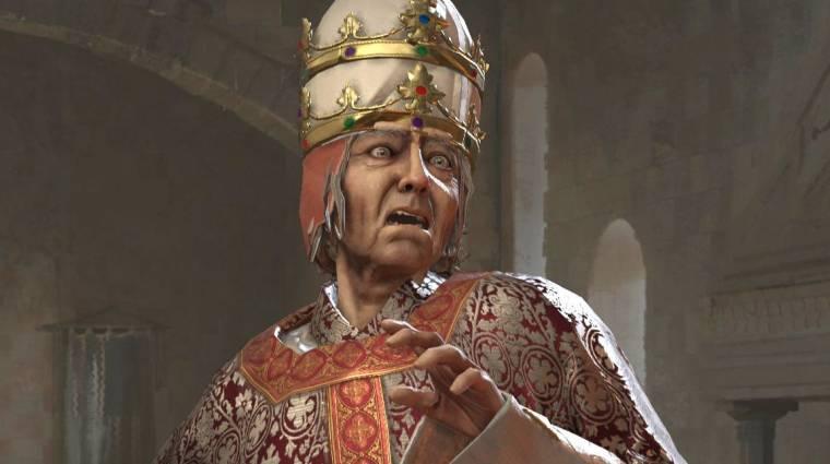 A Crusader Kings 3 játékosai megettek egy pápát bevezetőkép