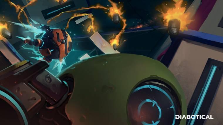 Ingyenesen elérhető a Diabotical, a klasszikus arena shooterek hangulatát idéző FPS bevezetőkép