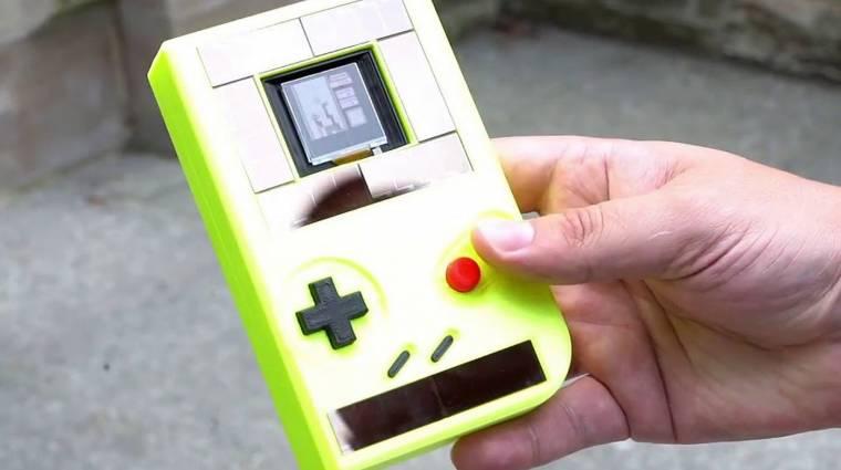Íme a napenergiával működő Game Boy bevezetőkép