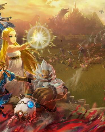 Hyrule Warriors: Age of Calamity kép
