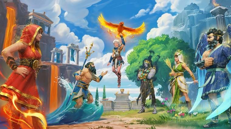 Más játékot csinál az Immortals Fenyx Risingból a héten érkező utolsó DLC bevezetőkép