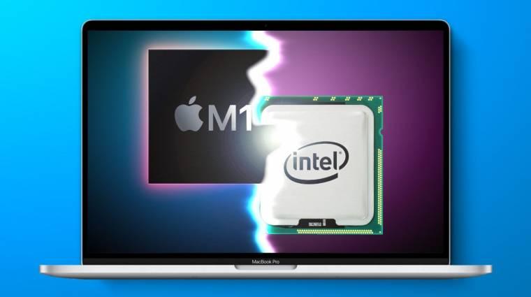 Mindent megtesz az Intel, hogy lejárassa az Apple M1 processzort kép