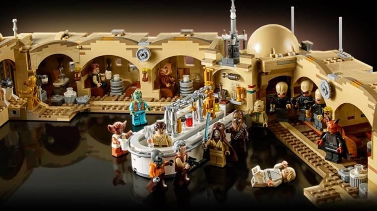Egészen elképesztő a Mos Eisley Cantina LEGO bevezetőkép