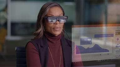 Munkára tervezett okosszemüveget villantott a Lenovo kép