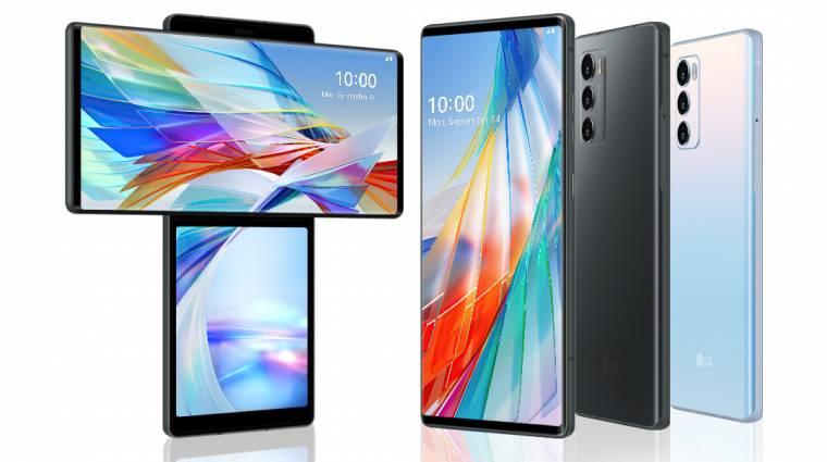 Az LG Wing tényleg olyat tud, amit semelyik más mobil, az árától viszont nagyon félünk kép