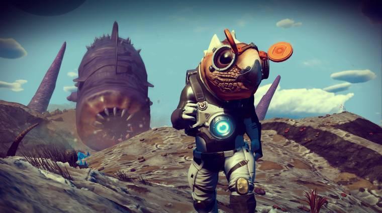 Új világokat, lényeket, homokférget hoz a No Man's Sky: Origins bevezetőkép