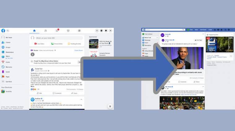 Utálod a Facebook új kinézetét? Így varázsolhatod vissza a régit kép