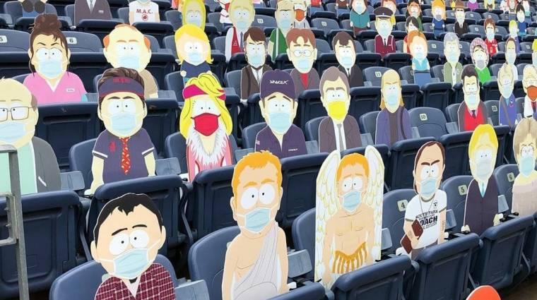 South Park lakóival töltötték fel a Denver Broncos stadionját bevezetőkép