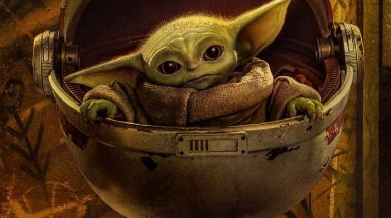 Bébi Yoda lett a cuki potyautasa a nemrég fellőtt Crew Dragon űrhajónak kép