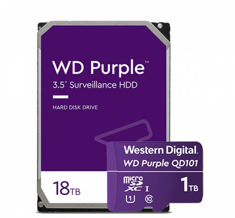 Western Digital unveils 18TB Red Pro and Purple hard