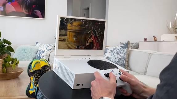 Egy kickstarteres termék laptopot csinál az Xbox Series S-ből kép