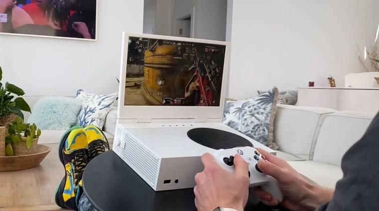 Egy kickstarteres termék laptopot csinál az Xbox Series S-ből bevezetőkép
