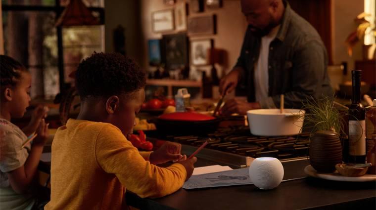 Itt az Apple HomePod Mini, amivel bármikor megijeszthetjük az egész családot kép