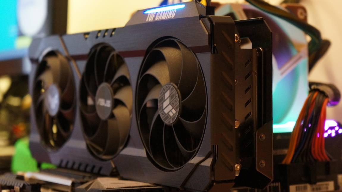 Asus TUF Gaming GeForce RTX 3070 OC teszt – a nevető harmadik kép