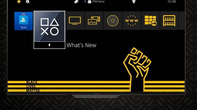 PS4-es Black Lives Matter témát ad ingyen a Sony bevezetőkép