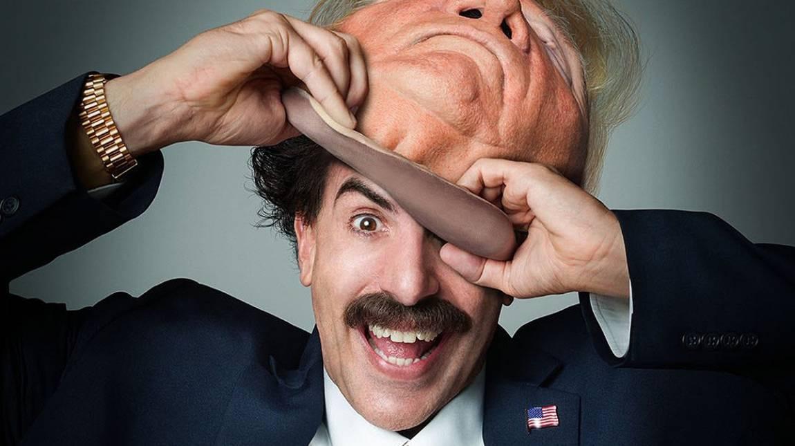 A Borat 2 már nem tud sokkolni, de egy republikánus botrányt azért így is összehozott bevezetőkép