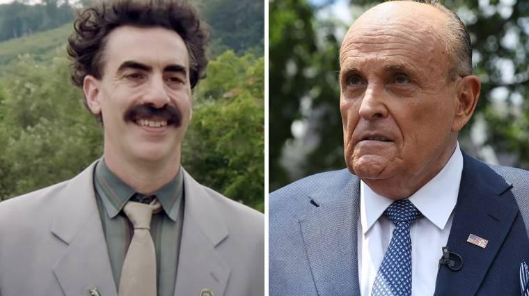 A Borat 2 botrányát egyik fél sem hagyja szó nélkül, még maga Borat sem bevezetőkép