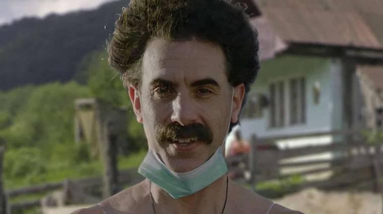 Sacha Baron Cohen szerint túl veszélyes lett a Borat bevezetőkép