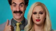 Rendhagyó módon, de folytatást kap a Borat 2, ami már előzetest is kapott kép