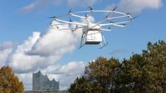 Elektromos drónnal szállítják majd az euró raklapra pakolt árut kép