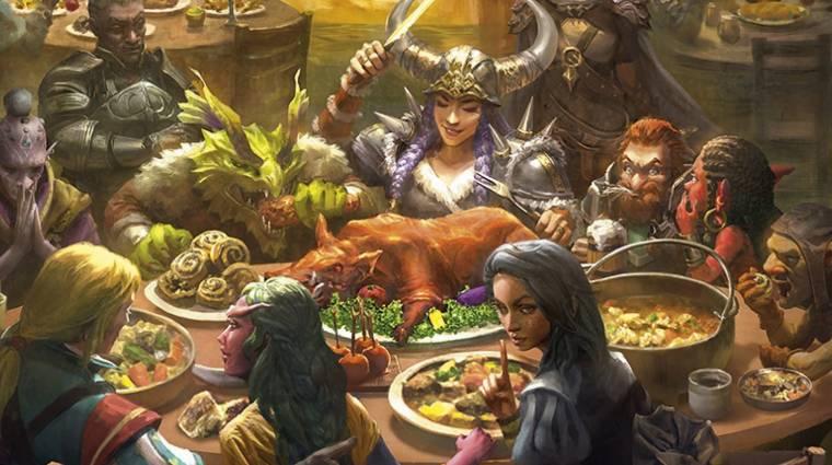 Hát persze, hogy Dungeons & Dragons szakácskönyv is készül bevezetőkép