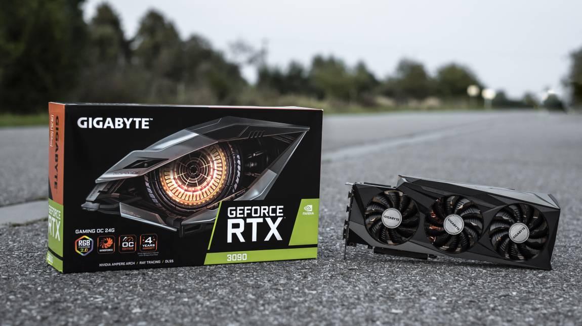 Gigabyte GeForce RTX 3090 Gaming OC teszt – egy VGA mind felett kép