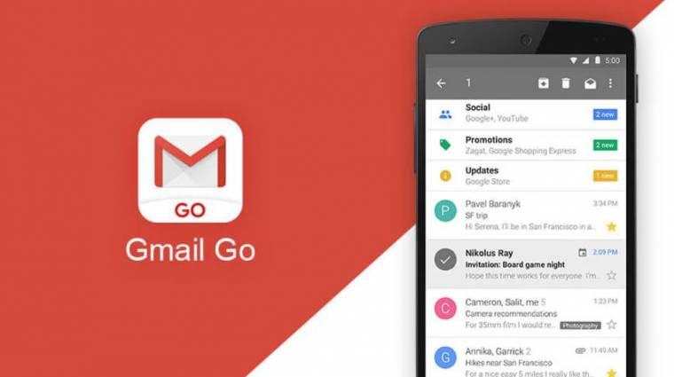 Egy napig volt tölthető bármilyen androidos mobilra a Gmail Go kép