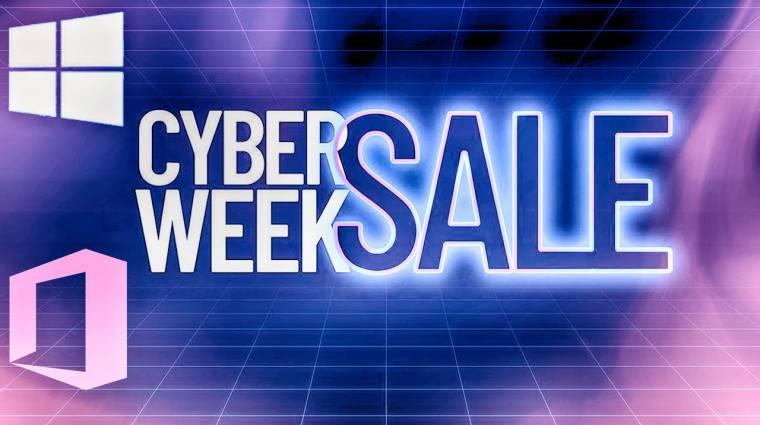 Lecsúsztál a Black Friday-ről? Sebaj, itt a Cyber Week szoftverakció! kép