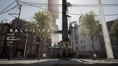 Elképesztő látványos a Half-Life 2 Plaza Unreal Engine 4-gyel modellezve kép