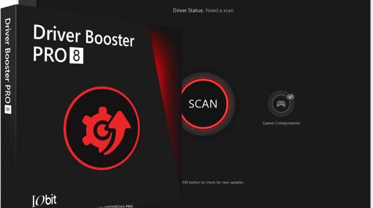 Az IObit Driver Booster Pro 8 segít a PC World olvasóinak a driverek frissítésében kép