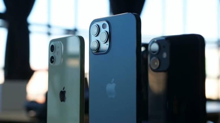 Videós portré móddal, kisebb szenzorszigettel és képszerkesztési megoldásokkal támadhat az iPhone 13 kép