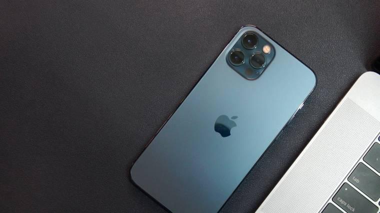 Gond van az iPhone 12 hangszórójával, szervizprogramot hirdetett az Apple kép