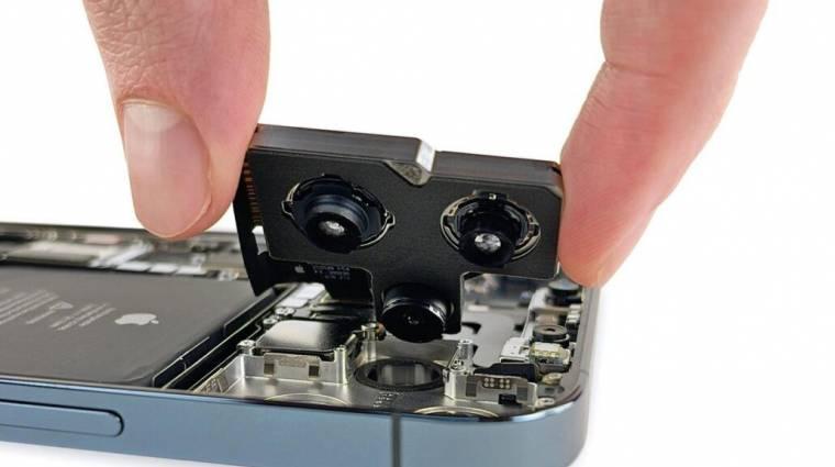 Ilyen titkokat rejt az iPhone 12 Pro Max belseje kép