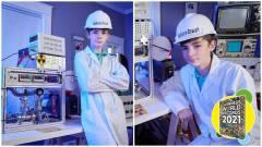 Hivatalosan is Guinness-rekorder a 12 éves fiú, aki szülei házában rakott össze egy fúziós reaktort kép