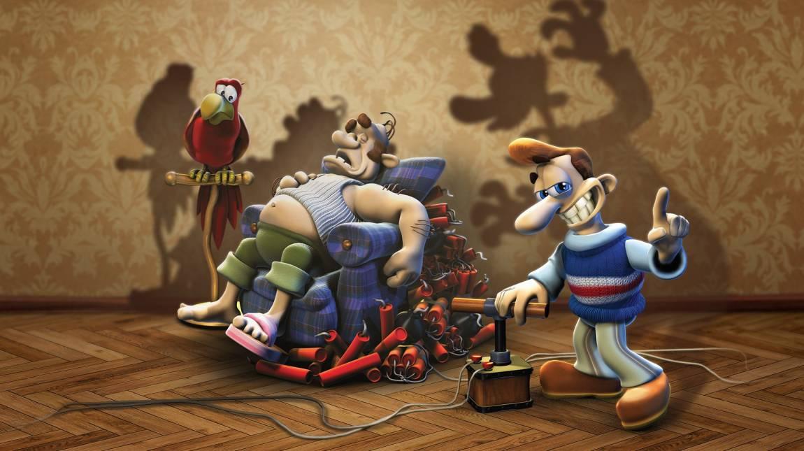 Pokoli szomszédok remaster teszt - Woody még mindig egy féreg bevezetőkép