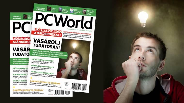 Miért vásárolnál teljes áron PC World magazint, ha előfizetőként több ezer forintot spórolhatsz? kép