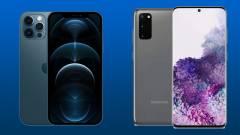 A Samsung Galaxy S20 vagy az iPhone 12 a jobb a csúcsmobilok közül? kép