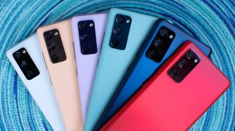 Íme néhány fotó a Samsung Galaxy S21+-ról kép
