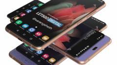 Csúsztatható kijelzős mobilon dolgozik a Samsung? kép