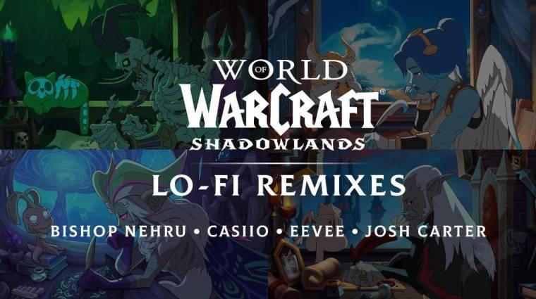 A World of Warcraft csapata kiadott négy lo-fi Shadowlands számot, amik segítenek lepörgetni a házi feladatokat bevezetőkép