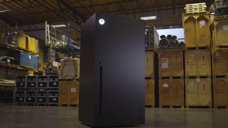És te szeretnél egy Xbox Series X hűtőszekrényt otthonra? bevezetőkép