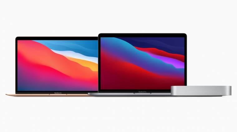 Bemutatkoztak az Apple első saját chipes Mac gépei kép